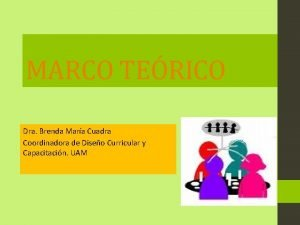 MARCO TERICO Dra Brenda Mara Cuadra Coordinadora de