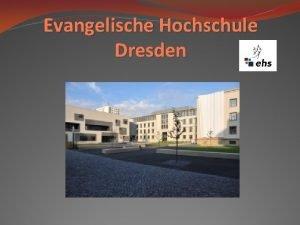 Evangelische Hochschule Dresden Kpzs Egy vfolyam itthon egy