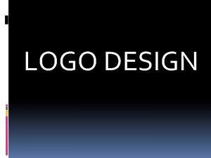LOGO DESIGN BrandIdentityLogo Brand Identity Logo Think of
