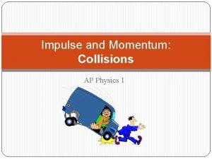 Impulse and Momentum Collisions AP Physics 1 Impulse
