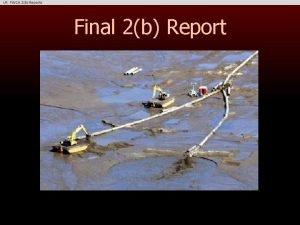 Final 2b Report Final 2b Report End of
