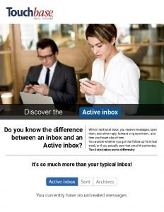 Discover the Active inbox Do you know the