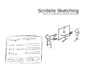 Scribble Sketching Chapter 2 1 in Sketching User