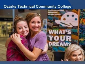 Ozarks Technical Community College Financial Aid FAFSA 2018