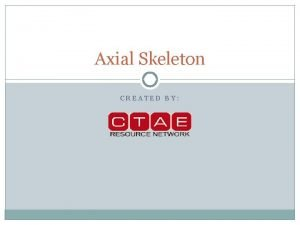 Axial Skeleton CREATED BY Introduction A B Definitionbones