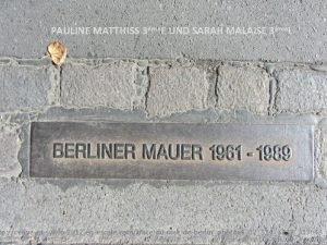 PAULINE MATTHISS 3me E UND SARAH MALAISE 3me