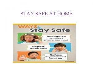 STAY SAFE AT HOME STAY SAFE AWARD Psalms