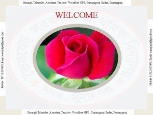 Suranjit Talukder Assistant Teacher Voishber GPS Sunamgonj Sadar