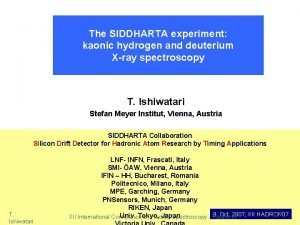 The SIDDHARTA experiment kaonic hydrogen and deuterium Xray