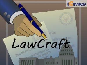 Law Craft Bicameral Brainstorm ACTIVITY ONE Bicameral Brainstorm