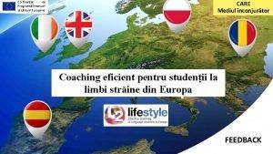 Cofinanat de Programul Erasmus al Uniunii Europene CARE