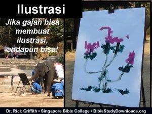 Ilustrasi Jika gajah bisa membuat ilustrasi andapun bisa