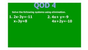 Graphing Linear Inequalities Describes a region of a