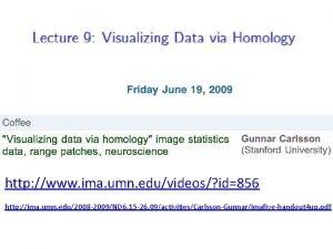 http www ima umn eduvideos id856 http ima