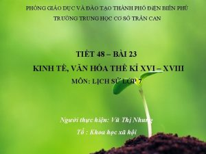 PHNG GIO DC V O TO THNH PH
