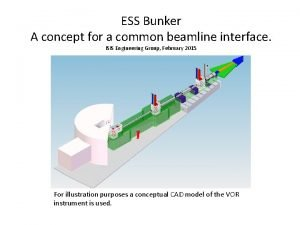 ESS Bunker A concept for a common beamline