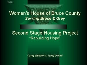 352021 Womens House of Bruce County Serving Bruce