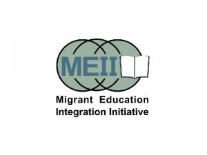 Migrant Learning Centers Recognized only as learning centers