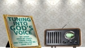 Foundational We must believe God Speaks Gods voice