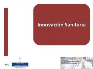 Innovacin Sanitaria V 002 10 39 1 Innovacin
