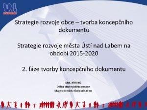 Strategie rozvoje obce tvorba koncepnho dokumentu Strategie rozvoje