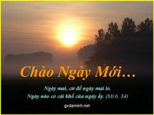 Cho Ngy Mi Ngy mai c ngy mai