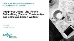 sozial digital Hilfe Wir digitalisieren uns Arlt Symposium