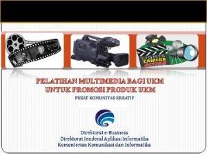 Pendahuluan Defenisi multimedia Aplikasiaplikasi produk multimedia Defenisi Multimedia
