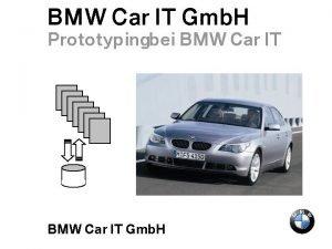 Thema Abteilung Datum Seite 1 BMW Car IT