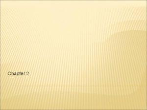 Chapter 2 HARDWARE SOFTWARE Hardware jaringan terdiri dari