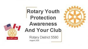Rotary Youth Protection Awareness And Your Club Rotary
