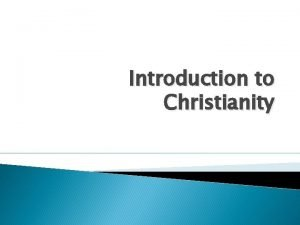 Introduction to Christianity Introduction Introduction Activity Equipment Telephone