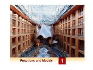 Functions and Models 1 1 2 Mathematical Models