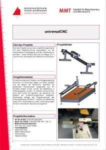 universal CNC Ziel des Projektbilder Ziel des Projekts