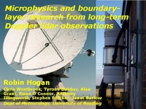 Microphysics and boundarylayer research from longterm Doppler lidar