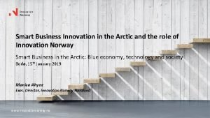 Smart Business Innovation in the Arctic and the