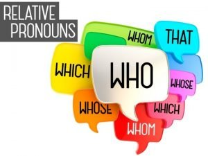 RELATIVE PRONOUNS Relative pronouns introduce a relative clause