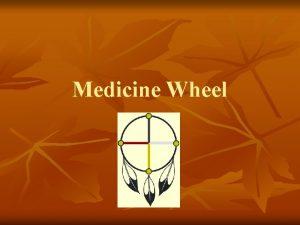 Medicine Wheel Medicine Wheel n The Medicine Wheel