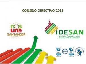 CONSEJO DIRECTIVO 2016 INFORME de GESTION Y PLAN