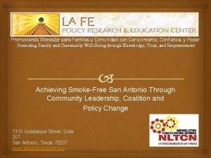 Promoviendo Bienestar para Familias y Comunidad con Conocimiento