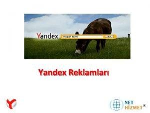 Yandex Reklamlar Yandex Reklam A Nedir Yandex Arama