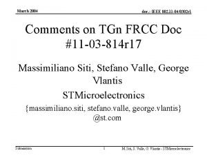 March 2004 doc IEEE 802 11 040302 r