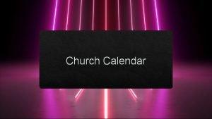 Church Calendar New Year Who Dis Catholic Church
