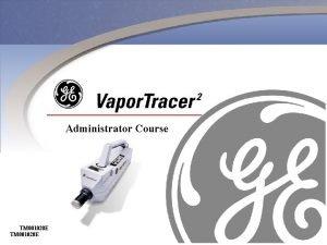 Administrator Course TM 001028 E Content Of Administrator
