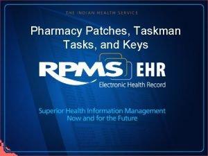 Pharmacy Patches Taskman Tasks and Keys Phamacy Patches