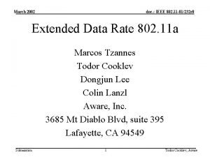 March 2002 doc IEEE 802 11 01232 r