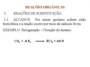 REAES ORG NICAS 1 REAES DE SUBSTITUIO 1