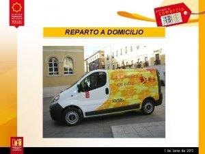 REPARTO A DOMICILIO SERVICIO DE REPARTO A DOMICILIO