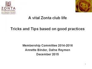 A vital Zonta club life Tricks and Tips