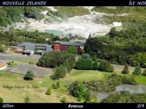 NOUVELLE ZELANDE LE NOR Village Maori Te Puia